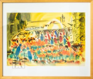 Original Watercolor - Powell & Hyde