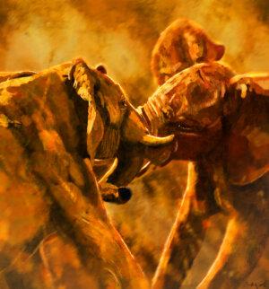 Battle of giants